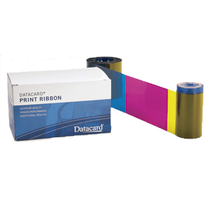 Datacard printer ribbon and box