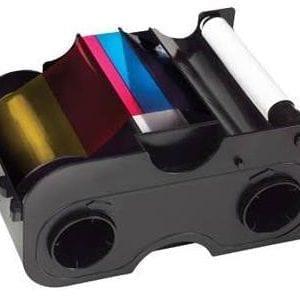 045500 – YMCKO Full Colour Ribbon Cartridge for DTC1250e – (250 Images)