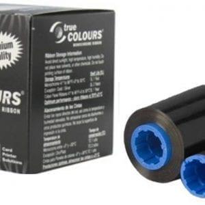 800015-101 – Black Monochrome Ribbon for Zebra P330i/P310 – (1,000 Images)