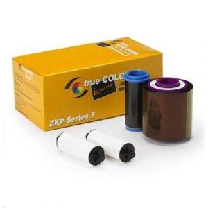 800077-740AU – YMCKO Colour Ribbon for Zebra ZXP7 – (250 Images)