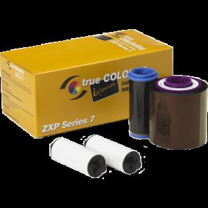 800077-742AU – YMCKO Colour Ribbon for Zebra ZXP7 (750 Images)