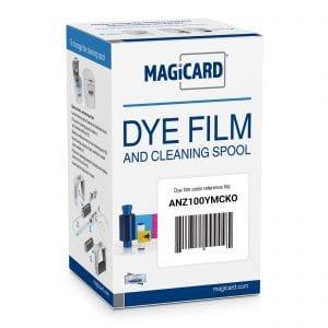 ANZ300YMCKO – Colour Dye Film Ribbon for Magicard – (300 Yield)