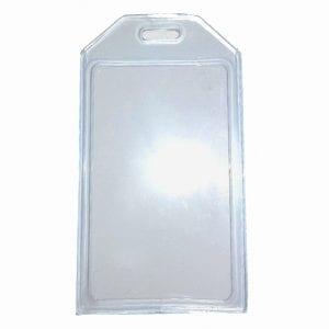 IPA-CPCLRSC2 – Clamshell Card Holder – Portrait – Clear Vinyl (100 per box)