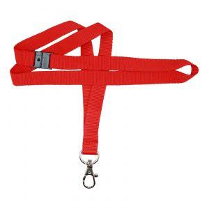 IPA-L15WREDIDH: Red Premium Lanyard (100 per pack)