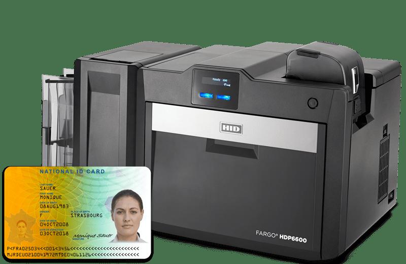 Plastic Card and ID Card Printer image